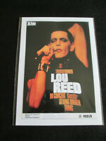 LOU REED : TRANSFORMER IN CONCERT  : A4  REPO POSTER
