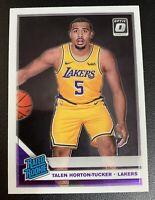 TALEN HORTON TUCKER Optic Rated ROOKIE RC# 151 Lakers PSA 9/10?