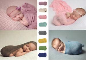 Baby Wrap Pucktuch stretch Decke Fotoshooting Newborn Neugeborenen Fotografie
