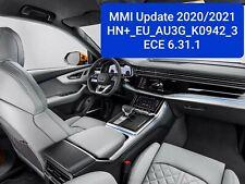 Audi MMI 3G Plus Update Europa 2020/2021 A4 A5 Q5 Q7