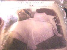 Vintage Mohawk Home 100% Cotton 'Antoinette' FULL 2 QUILTS, MATRIMONIAL LT BLUE