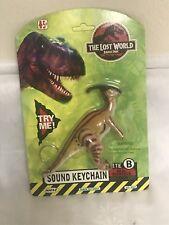 1996 Jurassic Oark Lost World Dinosaur Key Chain On Card Nice