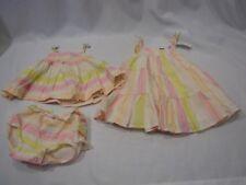 BABY GAP 3-6 DRESS DIAPER COVER FLUTTER RUFFLE TANK SET LOT SPRING SUMMER 3-6
