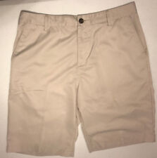 Adidas Polyester Blend Casual Flat Front Golf Shorts Size 32