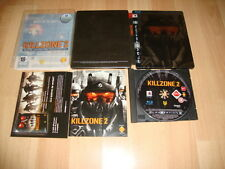 KILLZONE 2 KILL ZONE 2 EDICION LIMITADA PARA COLECCIONISTAS STEEL CASE SONY PS3