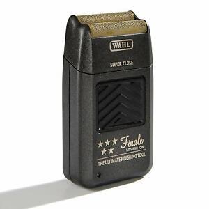 Wahl 8164 5 Star Finale Foil Men's Shaver - Black