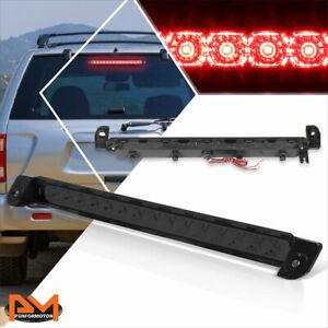 For 01-04 Pathfinder/Infiniti QX4 Full LED 3RD Tail Brake Light Stop Lamp Smoked