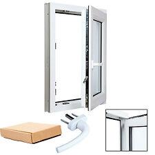 Finestre in PVC Bianco Aluplast 4000 Vetro basso emissivo Varie Misure per Te!