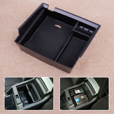 Black Car Center Armrest Console Organizer Tray Fit For Honda Accord 2013-2017