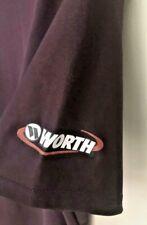 Mens Worth Baseball Athletic T-Shirt sz M Maroon Coach tee