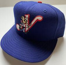 Vtg Nashville Sounds New Era Fitted Wool Hat Cap Milb 7 1/4 Minor Baseball USA