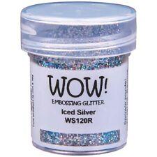 WOW! Embossing Glitter Iced Silver Regular | 15ml Jar