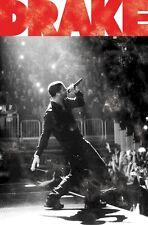 Drake ~ Live On Stage 22x34 Music Poster Rap Hip-Hop Concert New/Rolled!