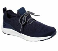 Navy Skechers Shoes Men's Memory Foam Air Comfort Casual Train Walk Mesh 52890