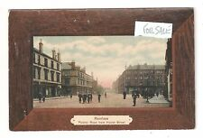Renfrew Paisley Road from Hairst Street Renfrewshire Scottish postcard unused