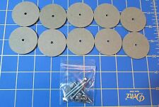 """For Jointed Teddy Bear = 10 – 1 3/4""""  Hardboard Discs – with Tapbolt Set"""