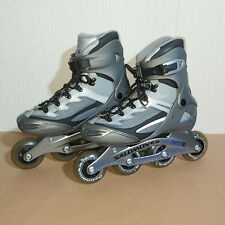 Salomon DR 85 Powerarch Inline Skates Ladies Size UK 7.5 EU 41 US 9 Silver
