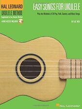 Easy Songs For Ukulele_More Easy Songs For Ukulele + CDs -- NEW