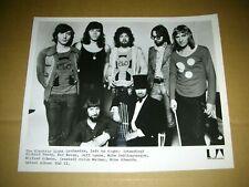 Electric Light Orchestra Jeff Lynne 1970's B&W Original Press Photo Mint- #1