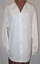 PORT AUTHORITY WOMANS MATERNITY WHITE BLOUSE / SHIRT SIZE 1X NEW