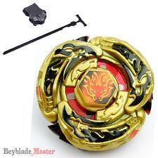 Fusion Beyblade Masters GOLD L-DRAGO DESTROY DF105LRF +Power Launcher+Winder