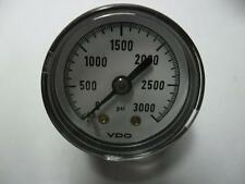 1x VDO p/n 1415-379-010   Pressure Gauge 0-3000 PSI 1/8 NPT new original
