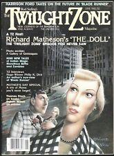 Twilight Zone V 2 # 3 1982 Science Fiction Horror Magazine Blade Runner The Doll