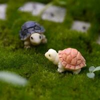 Mini Sea Turtle Miniature Aquarium Decoration Resin Fish For The Ornaments C9W3