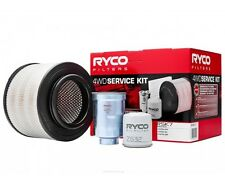 RYCO Oil Air Fuel Filter Service Kits MAZDA BT50 2.5L 3.0L 2006-2011