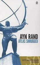 Atlas Shrugged by Ayn Rand 50th Anniversary edition, brand new - Free UK P&P*