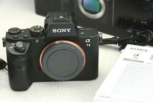Sony Alpha ILCE-7M2 A7 II 24,3MP Vollformat Digitalkamera -  Auslösungen 62711