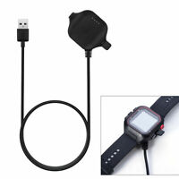 FA- USB Charging Clip Base Charger Data Sync Cradle for Garmin Forerunner 25