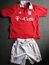FC Bayern München-Trikot + Hose-Gr.164-Clima Cool-T Com-Nr.10 Makaay-Adidas