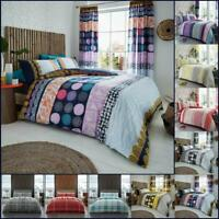 Striped Duvet Cover Set Single Double Super Check Bedding New King Size Quilt