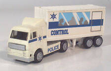 """New Ray Semi Police Control Mobile Command Hauler Tactical Truck 5"""" Scale Model"""