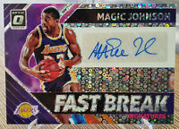 2018-19 Optic Magic Johnson Fast Break Auto Autograph Signature