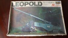 "Pistola de ferrocarril alemán Leopold K5 (e) ""schlanke Bertha"" Hasegawa 1:72"