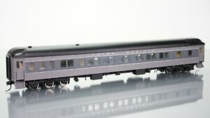 Walthers Heavyweights 12-1 Sleeper Union Pacific Grey HO scale