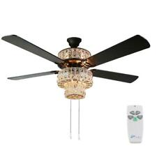 River of Goods Bohemian 52 in. Indoor White Punched Metal Ceiling Fan