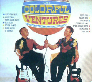 """THE VENTURES  """" THE COLORFUL VENTURES  """" FRENCH EDITION CD"""