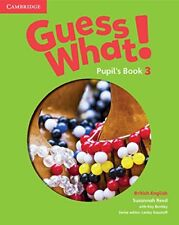 Guess What! Level 3 Pupil's Book British English, Reed, Susannah, Very Good cond