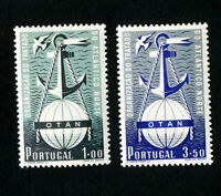 Portugal Stamps # 747-8 VF OG LH Catalog Value $200.00