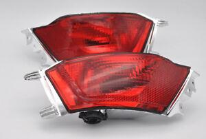 2x REAR BUMPER Fog Reflector Tail brake lights For Jaguar F-Pace X761 2016-2018