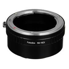 Fotodiox Lens Adapter Nikon F-mount Lens to Sony E-Mount