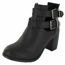 """Spot On 1.5-3"""" Mid Heel Boots for Women"""