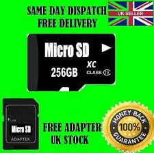 256GB Micro SD Memory Card CLASS 10 SDHC,SDXC for mobiles laps tablet camera ext