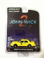 Greenlight Hollywood 2008 Ford Crown Victoria NYC Taxi Car Model 1:64