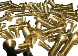 Screws (Bolts) Brass Countersunk