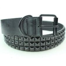 Rivet Design Belts For Men Fashion Waist Accessory Adjustable Studded Straps New
