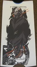 """Canvas Print - HADES - Signed by artist - 18x8 5/8"""" - FoxBox Brian Lie"""